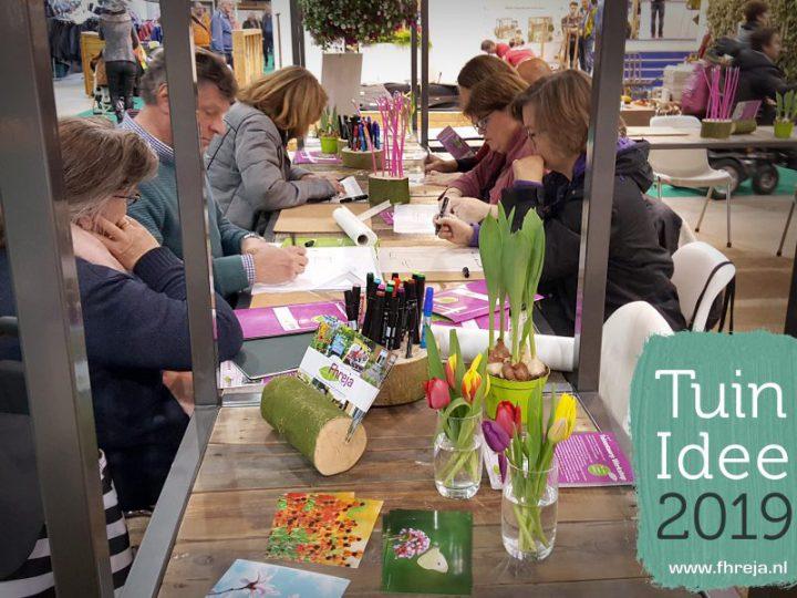 Fhreja met Tuinontwerp Workshops op Tuinidee 2019