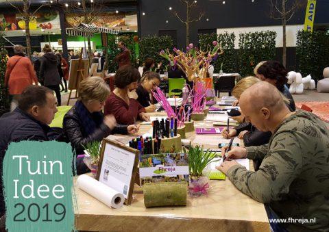 2019-06-Enorm veel deelnemers Tuinontwerp Workshops TuinIdeen - Fhreja - Ontwerpbureau Groene Leefomgeving