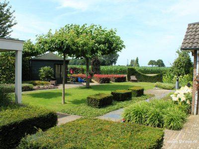 Outdoor living garden - Berkel Enschot 01 - Fhreja - Ontwerpbureau Groene Leefomgeving