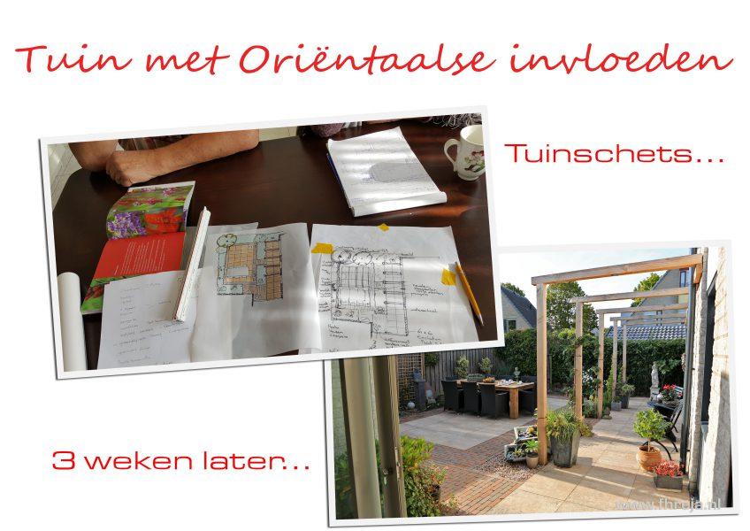 Tuinontwerp workshop Fhreja - Ontwerpbureau Groene Leefomgeving 01