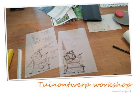 Tuinontwerp workshop fhreja for Tuinontwerp cursus
