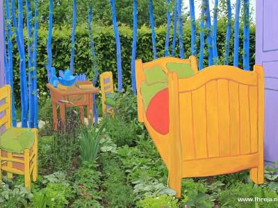 Vincent Binnenste Buiten - Appeltern 11 Fhreja - Ontwerpbureau Groene Leefomgeving - Vincent van Gogh - tuin