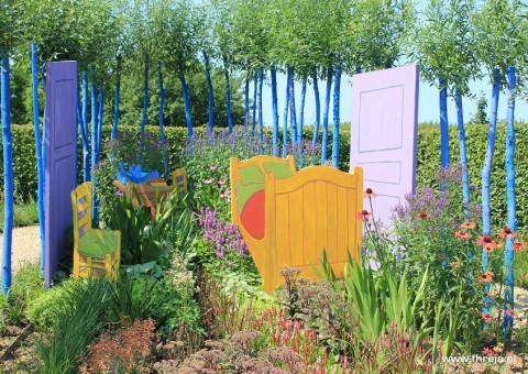 Vincent Binnenste Buiten - Appeltern 13 Fhreja - Ontwerpbureau Groene Leefomgeving - Vincent van Gogh - tuin