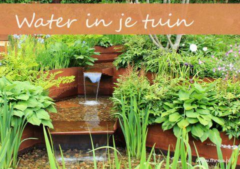 Water in je tuin | Vijver - Fhreja - Ontwerpbureau Groene Leefomgeving