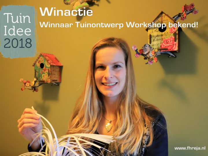 Winnaar TuinIdee Winactie bekend!