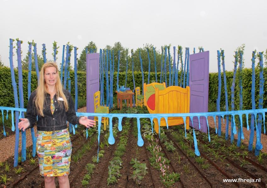 Vincent Binnenste Buiten opening - Fhreja - Ontwerpbureau Groene Leefomgeving - de Slaapkamer - Vincent van Gogh - tuin