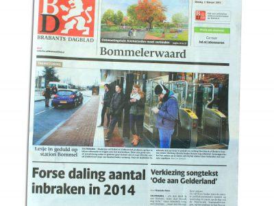 2015-01-Brabants Dagblad, 3 februari 2015, p.26-27 - Kweektuin voor kruisbestuiving a - Fhreja - Ontwerpbureau Groene Leefomgeving