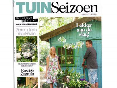 2017-01-Tuinseizoen, mei 2017, p. 4 Distelvlinder a - Fhreja - Ontwerpbureau Groene Leefomgeving