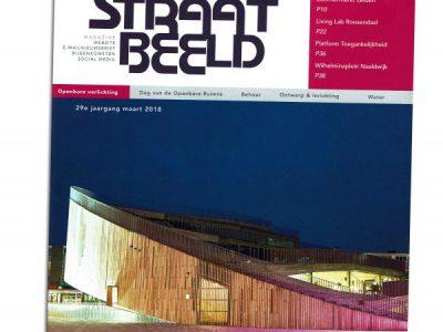 2018-05-Straatbeeld, maart 2018, p.34 - Ontmoetingsbank in kleurrijke zorgomgeving - Fhreja - Ontwerpbureau Groene Leefomgeving