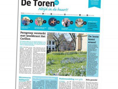 2018-06-De Toren, w. 14, 5 april 2018, p.19 - Lentekriebels - Fhreja - Ontwerpbureau Groene Leefomgeving