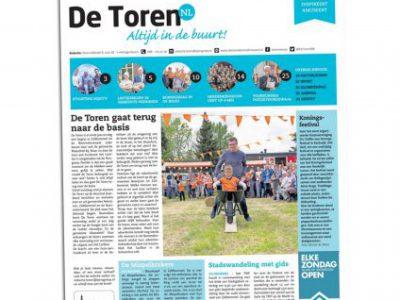 2018-08-De Toren, w. 18, 2 mei 2018, p.8 - Hier is de bloesem! Column - Fhreja - Ontwerpbureau Groene Leefomgeving