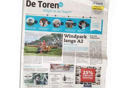 2018-09-De Toren, w. 23, 6 juni 2018, p.7 - Klimaatadaptief Column - Fhreja - Ontwerpbureau Groene Leefomgeving