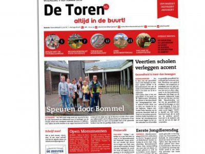 2018-11-De Toren, w. 36, 5 september 2018, p.29 - Leven in de tuin Column - Fhreja - Ontwerpbureau Groene Leefomgeving