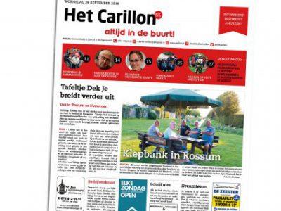2018-12-Het Carillon, w. 39, 26 september 2018, p.11 - Burendag in de Ontmoetingstuin - Fhreja - Ontwerpbureau Groene Leefomgeving