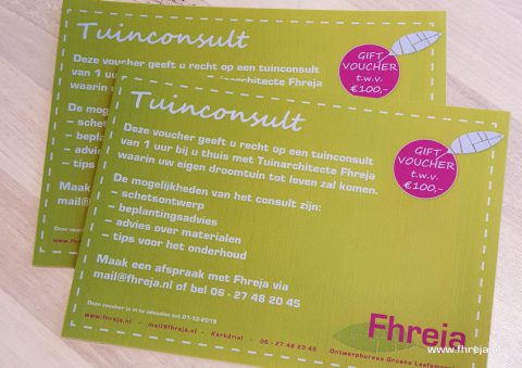 2019-07-Giftvoucher - Tuinconsult - Fhreja - Ontwerpbureau Groene Leefomgeving