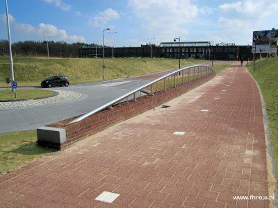Akulaan toegangsweg Stationsplein en Enka-terrein - Ede - Fhreja - Ontwerpbureau