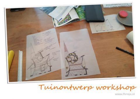 Tuinontwerp workshop Fhreja - Ontwerpbureau Groene Leefomgeving 04