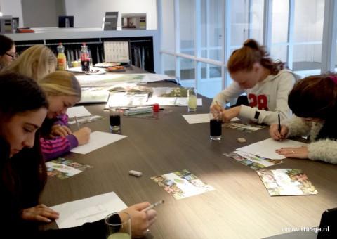 Tuinontwerpworkshop - Leerlingen - Fhreja - Ontwerpbureau Groene Leefomgeving