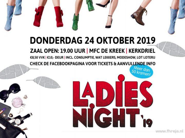 Fhreja is aanwezig tijdens Ladies Night 2019
