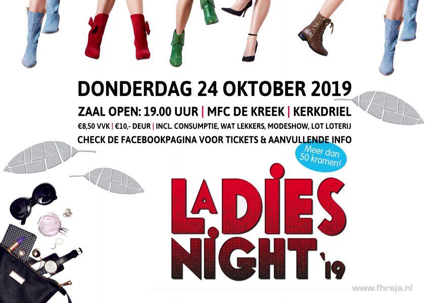 Fhreja Ontwerpbureau Groene Leefomgeving op Ladies Night 24 oktober 2019 de Kreek Kerkdriel