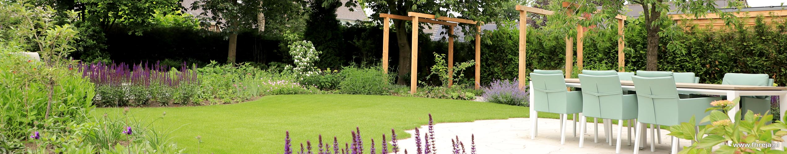 Tuin in cottagestijl Hedel - Fhreja - Ontwerpbureau Groene Ruimte